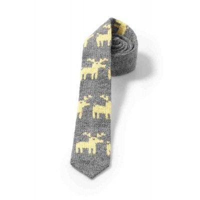 Moose patterned ties