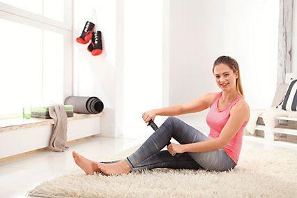 Fitness-Box FaszienPlus+ Fitnessrolle und Massageroller, 2er-Set | weltbild.de