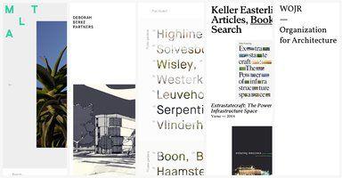 1000 Ideas About Architecture Websites On Pinterest