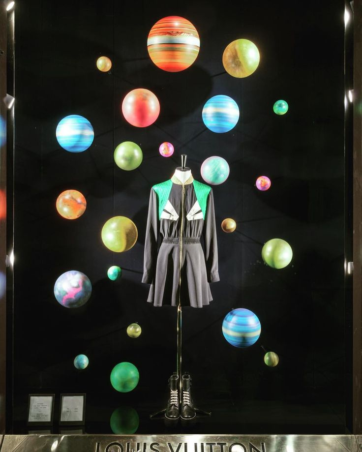 """LOUIS VUITTON, Milan, Italy, """"Before we go looking for life on other planets can we STOP killing life on this one?"""", pinned by Ton van der Veer"""