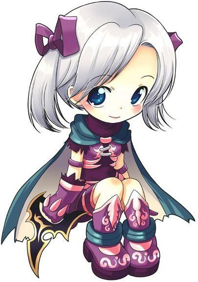 Cute chibi anime girl | Art - Anime/Manga | Pinterest ...