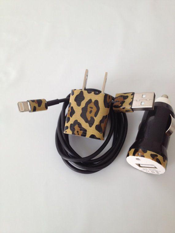 Cheetah I PHONE 4/4SI PHONE 5 Charger customized