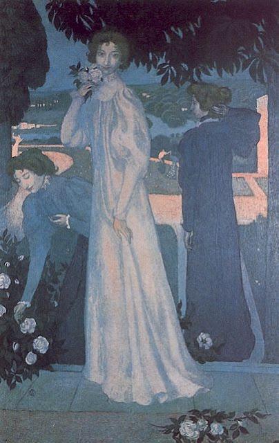 "Maurice Denis "" 1897 Portrait of Yvonne Lerolle """