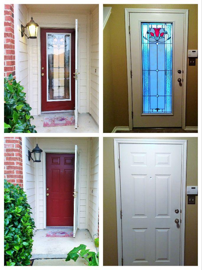 Want To Add Door Glass To Your Front Door No Problem
