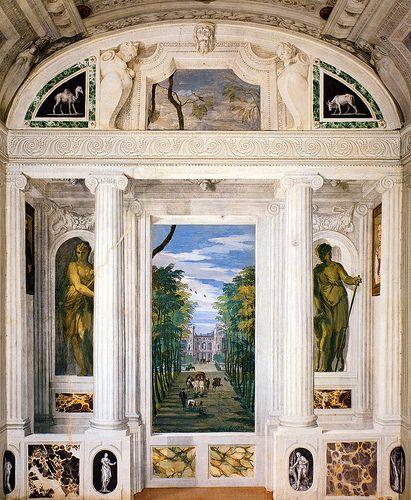 Paolo Veronese, Villa Barbaro, Maser (Treviso), Italy