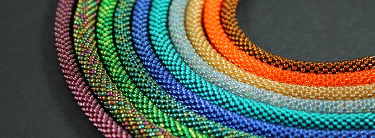 colorful crocheted ropes