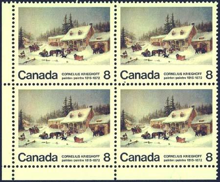 Canada Krieghoff stamp (1972?)
