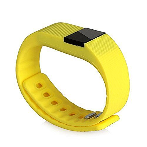 Joranlin TW64 Smart Watch Wireless Pedometer Sport Activity Tracker Smart Watch for Android and IOS Phone (Yellow)   Standby time under normal circumstances: 15 days. Your healthy monitor: Help you to keep a good habit,health and happiness follow you. Love life wal