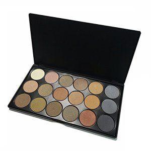 VALUE MAKERS 18 couleurs de fard à paupières Ombres Eye Palette Maquillage Pigments -Marque Nouvelle Palette Ombre à Paupières Ombre à…