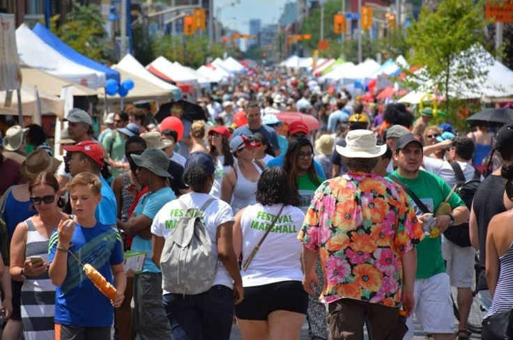 JUL 22 + 23 | BIG on Bloor Festival | Bloor btn Dufferin & Lansdowne | winner of Festivals & Events Ontario's Top 100 |  10th year has an expanded program | BlogTO