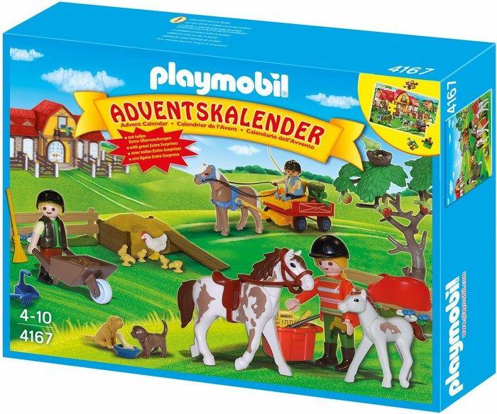 Playmobil Playmobil Stadnina koni kalendarz adwentowy 4167