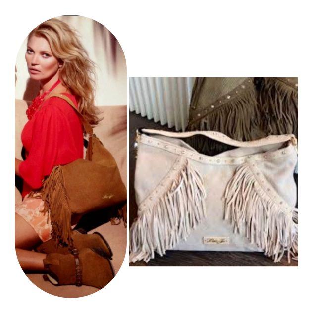 """Te atreves a ser una """"cowgirl""""?Kate Moos,icono de moda y musa de LIU-JO.Disponible en tienda en ambos colores!!"""