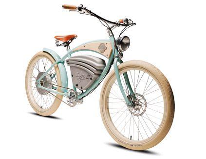 Vintage Electric Bikes   Cruz - Fast Electric Bike Beach Cruiser Style