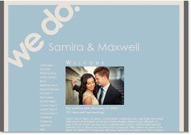 Your 11 favorite wedding website templates | Offbeat Bride