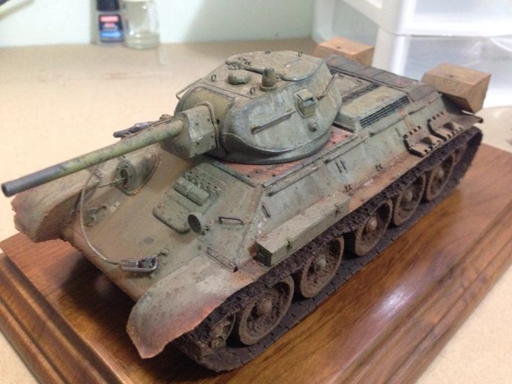 Russian T34/76 Dragon with Voyager PE's
