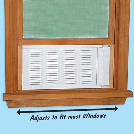 Adjustable Window Ventilator Found this awesome Product