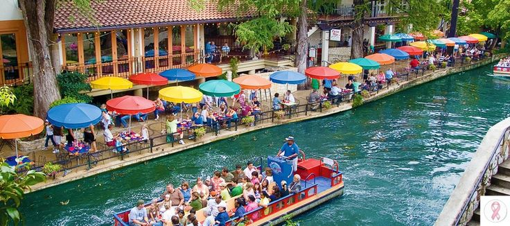 Did you know that The San Antonio Riverwalk is the most famous Riverwalk in the whole of the continental United States, and second only in the world to the mythical Italian legend of Venice.    http://www.marriott.com/satpl