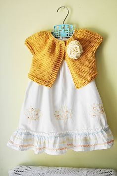 Claire's Fall Sweater Using Striped Smock Top Pattern by Erika Flory (Ravelry), Free Top-Down