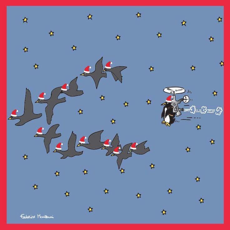 Pingueli Santa Claus by Federico Monzani