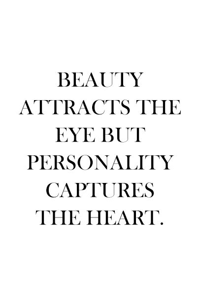 Personality Captures the Heart //: