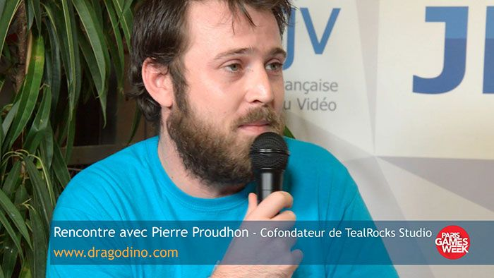 Pierre Proudhon explique la création de Dragodino - TealRocks Studio est un tout jeune studio, créé en août 2016 par Pierre Proudhon et Maureen Caudron, pour commercialiser le jeu Dragodino dont le développement a commencé il y a déjà un an et demi.