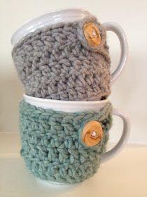 Sewing Barefoot: mug cozies