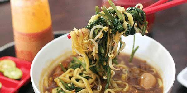 Mie Ayam Kangkung | Resepkoki.co