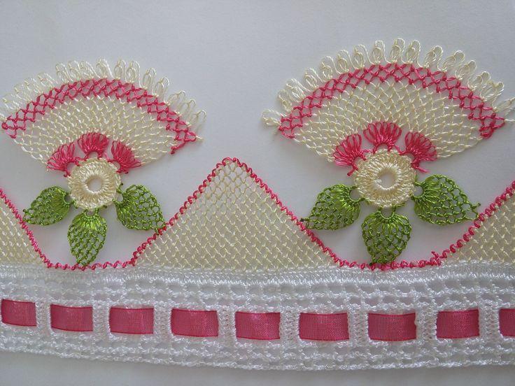 EV HANIMI # İğne Oyası: Havlu Kenarı