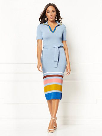 71cb9948 Karla Sweater Sheath Dress - Eva Mendes Collection. Find your perfect size  online at the best price at New York & Company.