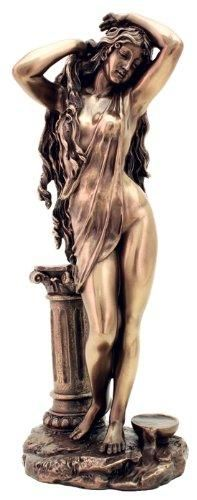 Goddess Aphrodite (Venus) Greek Roman Mythology Statue Sculpture Made of quality cold cast bronze.