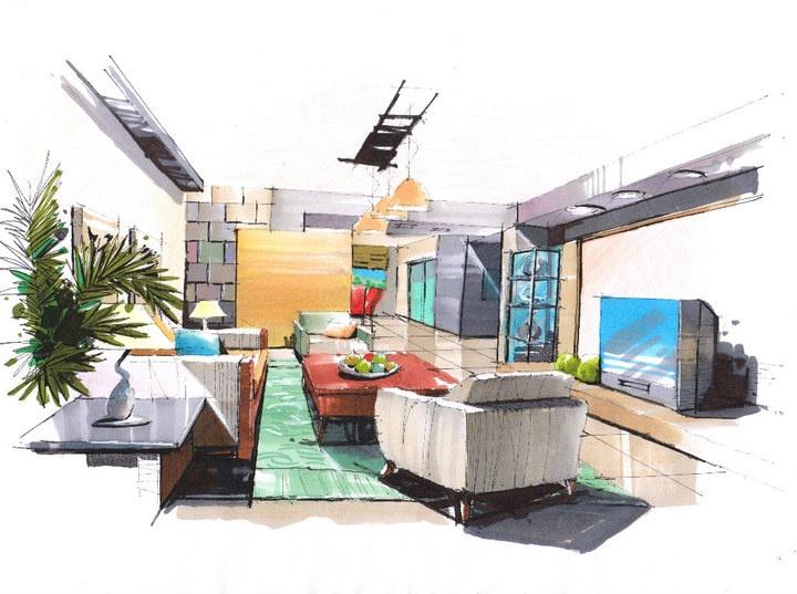 interior hand renderings