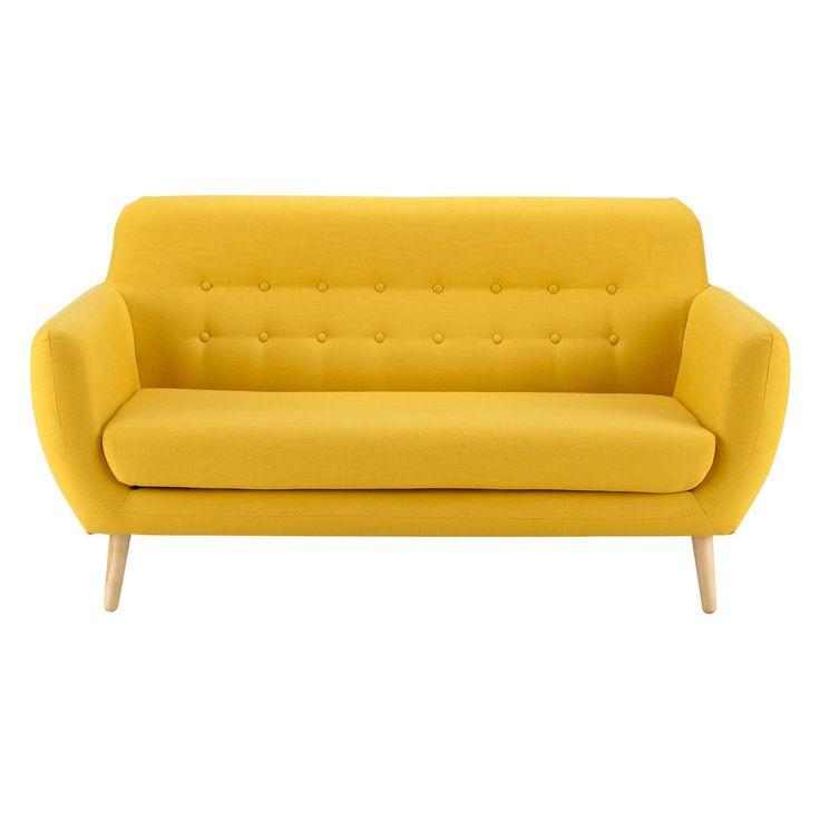Scandinavian Yellow Fabric ... - Iceberg