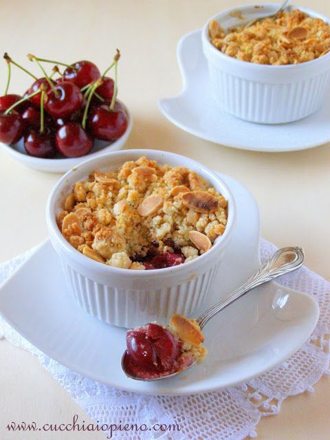 Crumble de cereja
