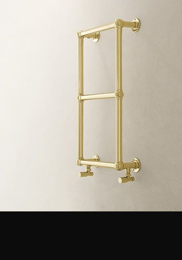 Classic Ball Jointed Gold Towel Rail (111EE)