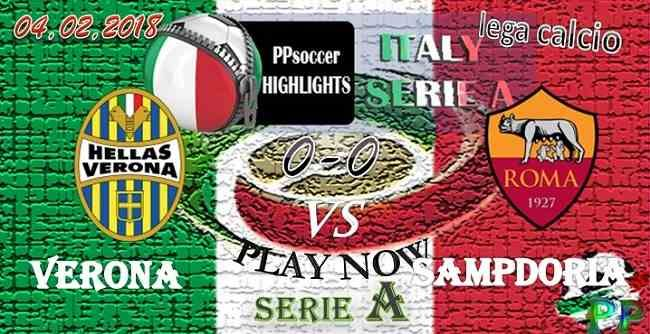 Verona 0 - 1 AS Roma HIGHLIGHTS 04.02.2018 watch video highlights and goal from the match Verona vs AS Roma ITALIA SERIE A -HIGHLIGHTS Verona 0 - 1 AS Roma 04.02.2018