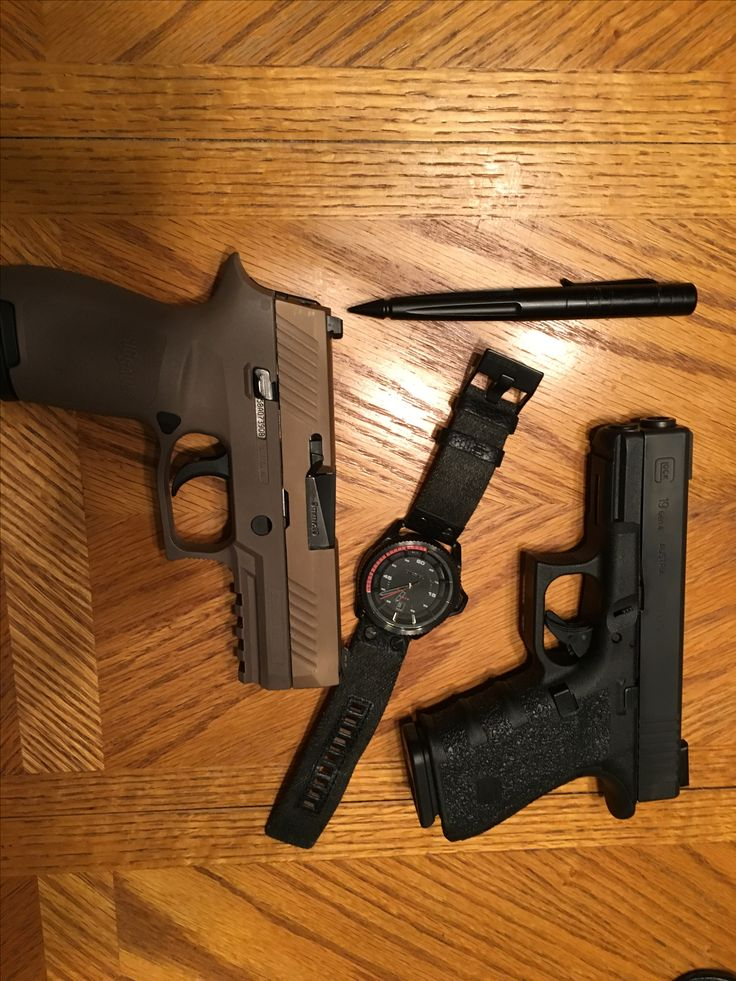 My two Favorite 9MM for CCW, Glock 19 Gen 4 &Sig Sauer P 320