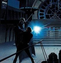 Original Star Wars Storyboard Illustrations