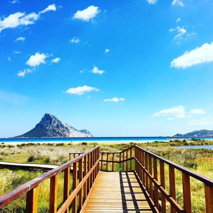 Sardinia, Italy - Porto Taverna beach. Between Olbia and San Teodoro