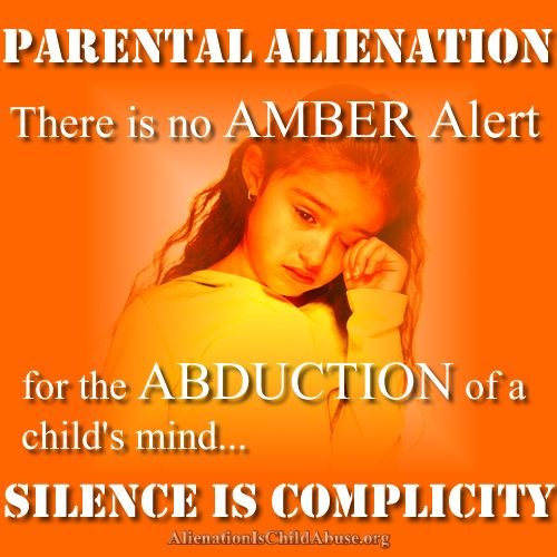 There is no AMBER Alert for the ABDUCTION of a child's mind...