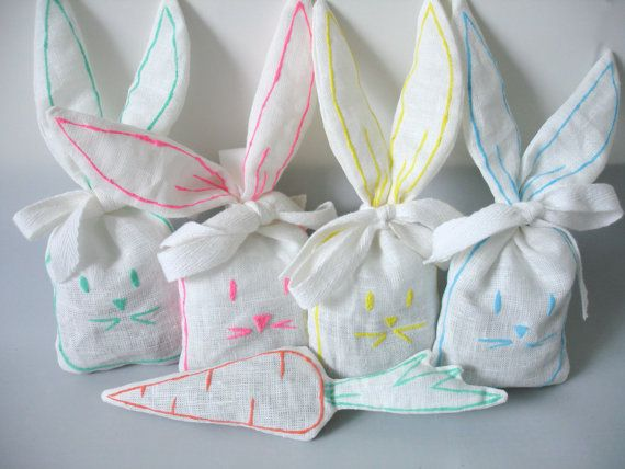 Bunny Lavander bag by Limonera on Etsy, $3.25
