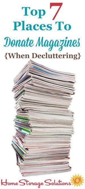 #decluttering #decluttering #solutions #magazines #magazines