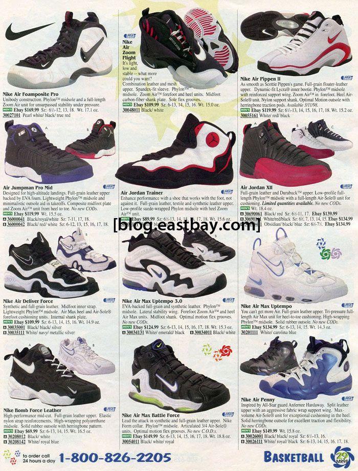 1998 nike bball back when kicks that were brand new were hot