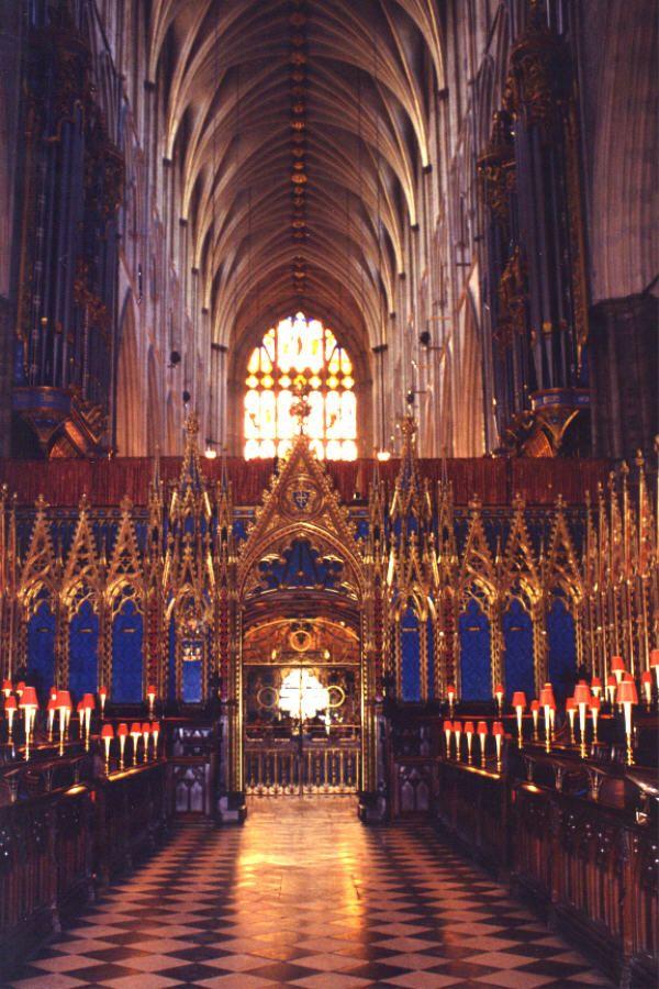 Westminster Abbey, London. Still my favorite. Prettier than Notre Dame Paris, Chartres, Rouen. Been
