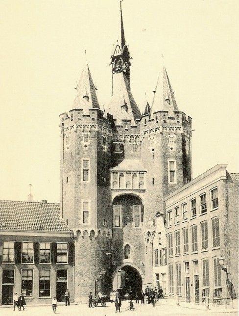 Sassenpoort, Zwolle, netherlands about 1900