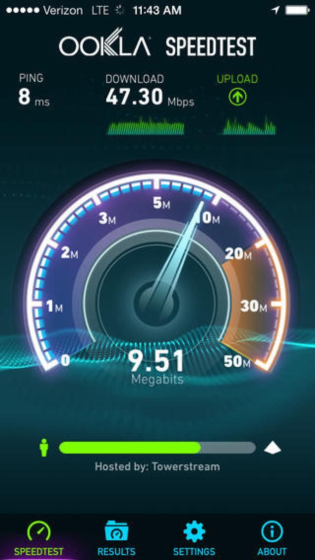 Test Your Internet Speed on the iPad: Image