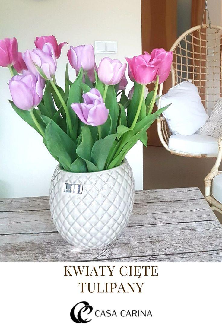 Ciete Tulipany Decor Vase Glass Vase