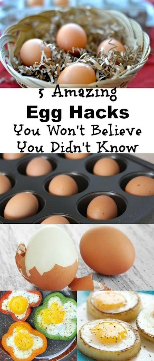 5 Amazing Egg Hacks You Won't Believe You Didn't Know #hacks #eggs #egghacks #cookinghacks