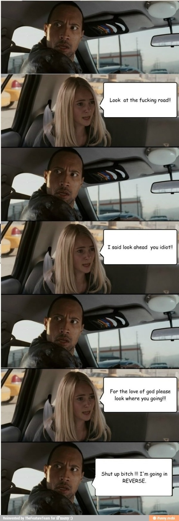 #lol #funny Dwayne Johnson