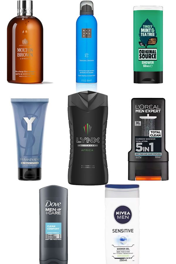 The Best Men S Shower Gel And Body Washes To Keep You Fresh And Clean Michael 84 Men Shower Mens Shower Gel Shower Gel