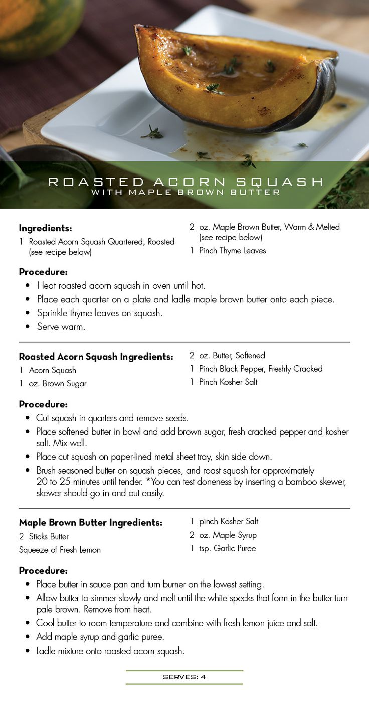 240 best popular restaurant recipes images on pinterest cooking seasons 52 recipe for roasted acorn squash with maple brown butter forumfinder Images
